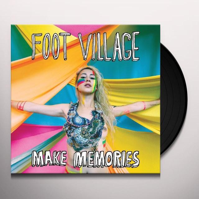 Foot Village MAKE MEMORIES Vinyl Record