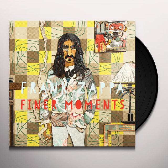 Frank Zappa FINER MOMENTS Vinyl Record