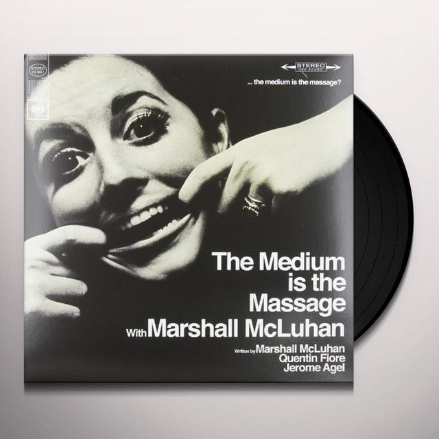 Marshall Mcluhan THE MEDIUM IS THE MASSAGE Vinyl Record