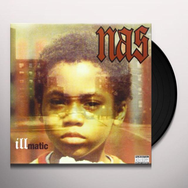 Nas ILLMATIC Vinyl Record