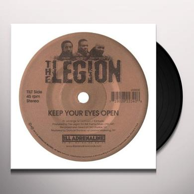 Legion KEEP YOUR EYES OPEN / STREET TRUTH Vinyl Record