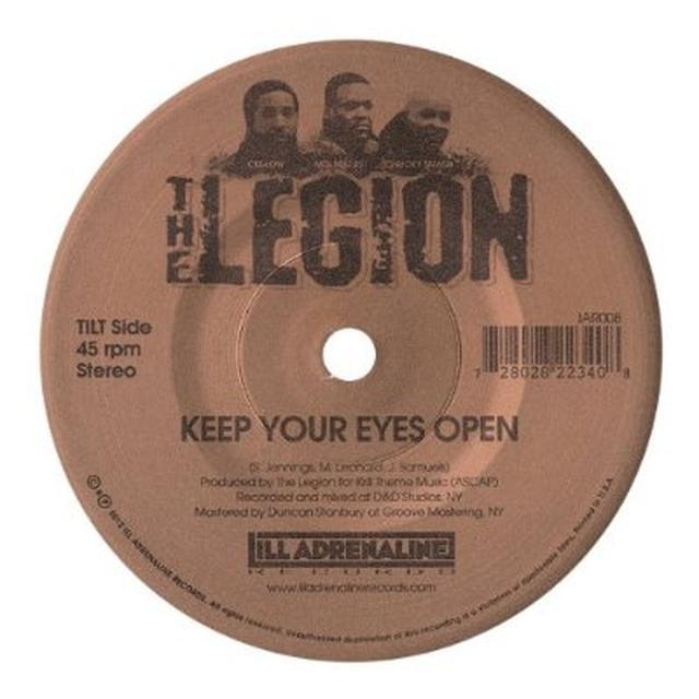 Legion KEEP YOUR EYES OPEN / STREET TRUTH Vinyl Record