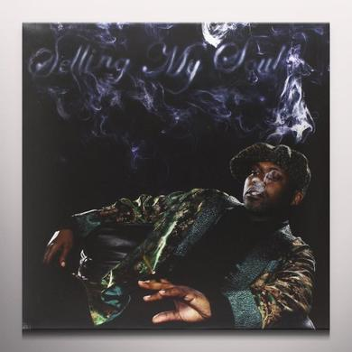 Masta Killa SELLING MY SOUL Vinyl Record - Clear Vinyl