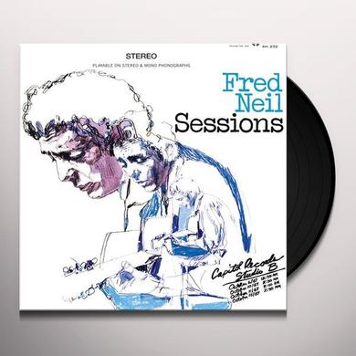 Fred Neil SESSIONS Vinyl Record - 180 Gram Pressing