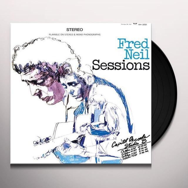 Fred Neil SESSIONS Vinyl Record - 180 Gram Pressing