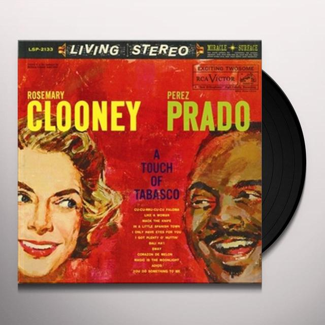 Rosemary Clooney / Perez Prado TOUCH OF TABASCO Vinyl Record