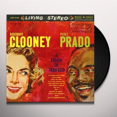 Rosemary Clooney / Perez Prado TOUCH OF TABASCO Vinyl Record - 180 Gram Pressing