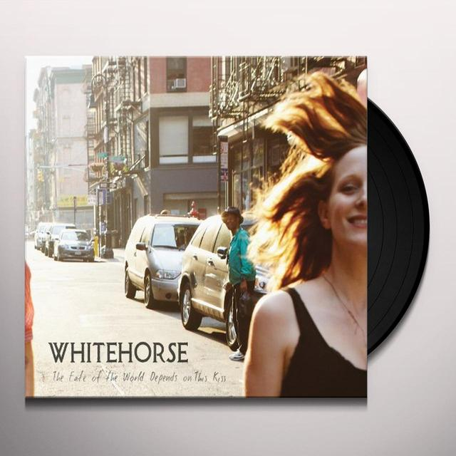Whitehorse FATE OF THE WORLD DEPENDS ON THIS KISS Vinyl Record