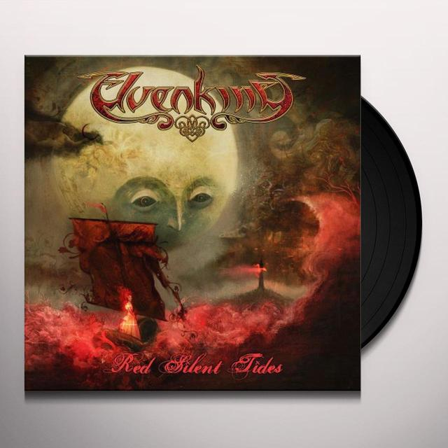 Elvenking RED SILENT TIDES Vinyl Record - Picture Disc