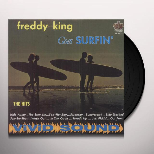 Freddie King GOES SURFIN' Vinyl Record