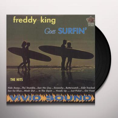 Freddie King GOES SURFIN' Vinyl Record