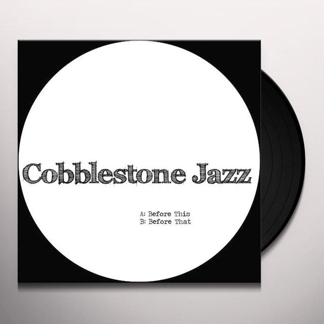 Cobblestone Jazz BEFORE THIS Vinyl Record