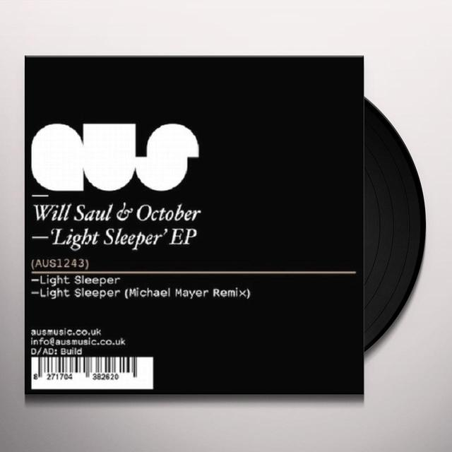 Will / October Saul LIGHT SLEEPER (EP) Vinyl Record