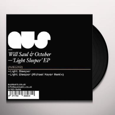 Will / October Saul LIGHT SLEEPER Vinyl Record