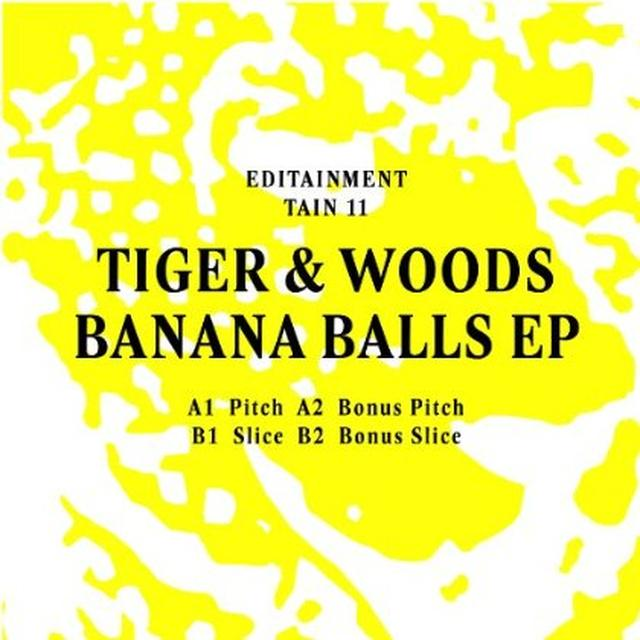 Tiger & Woods BANANA BALLS (EP) Vinyl Record