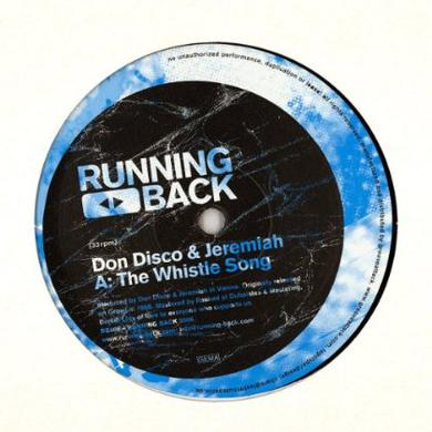 Don Disco & Jeremiah / Projam WHISTLE SONG/INTO THE GROOVE Vinyl Record