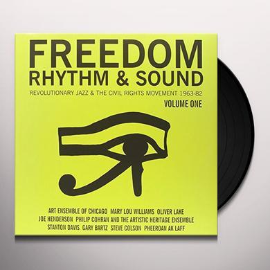 FREEDOM RHYTHM & SOUND REVOLUTIONARY JAZZ 1 / VAR Vinyl Record