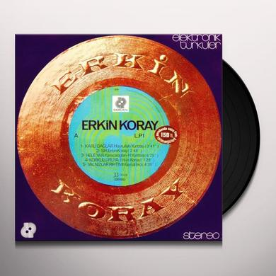 Erkin Koray ELEKTRONIK TURKULER Vinyl Record