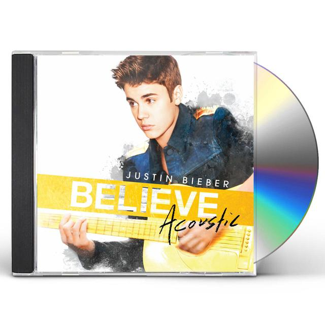 Justin Bieber BELIEVE ACOUSTIC CD