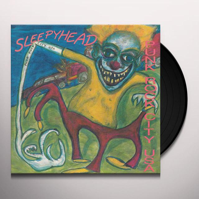 Sleepyhead PUNK ROCK CITY USA Vinyl Record
