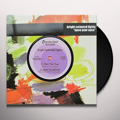 Bright Coloured Lights OPEN YOUR EYES Vinyl Record