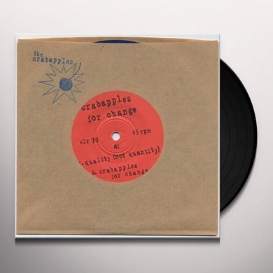 CRABAPPLES FOR CHANGE Vinyl Record