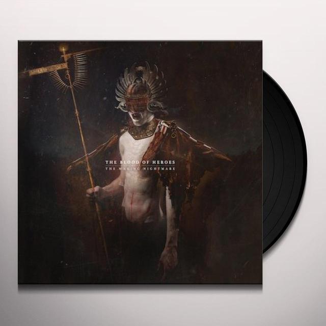 Blood Of Heroes WAKING NIGHTMARE Vinyl Record