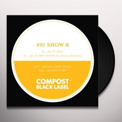 Show-B SAX'N'MPC Vinyl Record