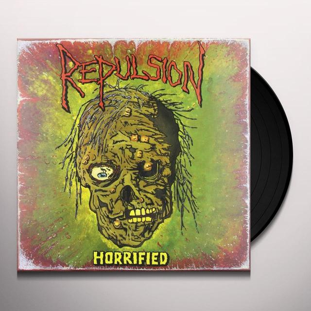 Repulsion HORRIFIED Vinyl Record