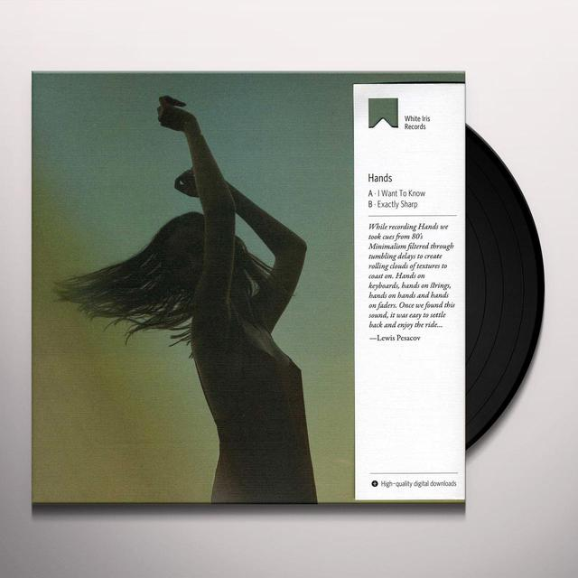 Hands I WANT TO KNOW / EXACTLY SHARP Vinyl Record