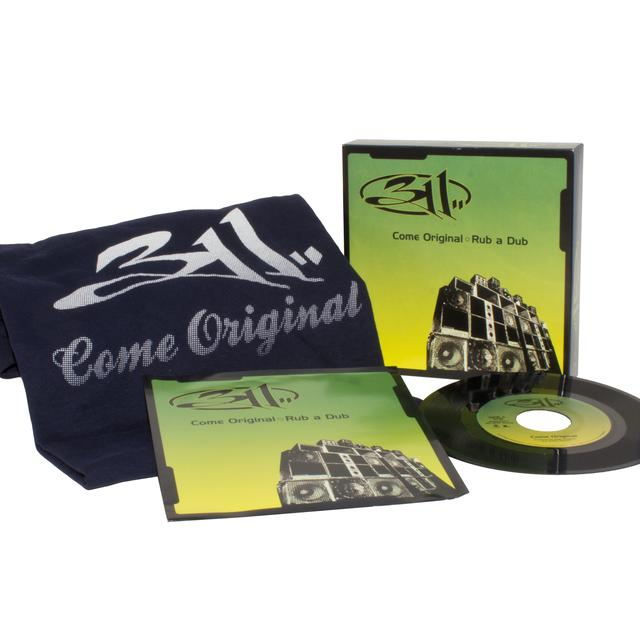 311 COME ORIGINAL / RUB A DUB (LG) (WTSH) Vinyl Record - Collector's Edition