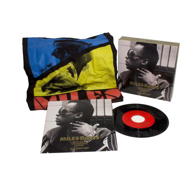 Miles Davis MILES RUNS THE VOODOO DOWN / IN A SILENT WAY Vinyl Record - Shirt Included