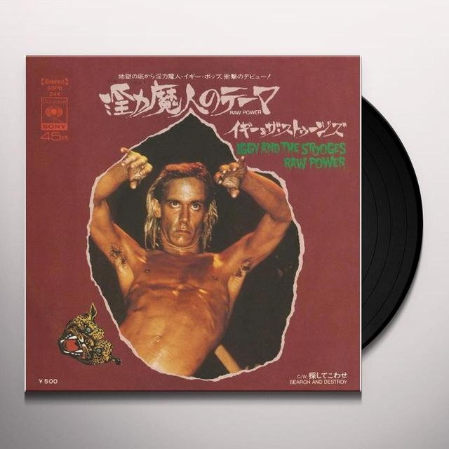Iggy and the Stooges RAW POWER / SEARCH & DESTROY (LG) (WTSH) Vinyl Record - Collector's Edition