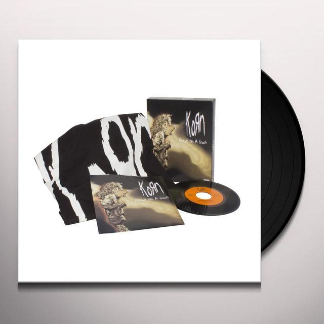 KoRn FREAK ON A LEASH / FREAK ON A LEASH (LETHAL FREAK) Vinyl Record