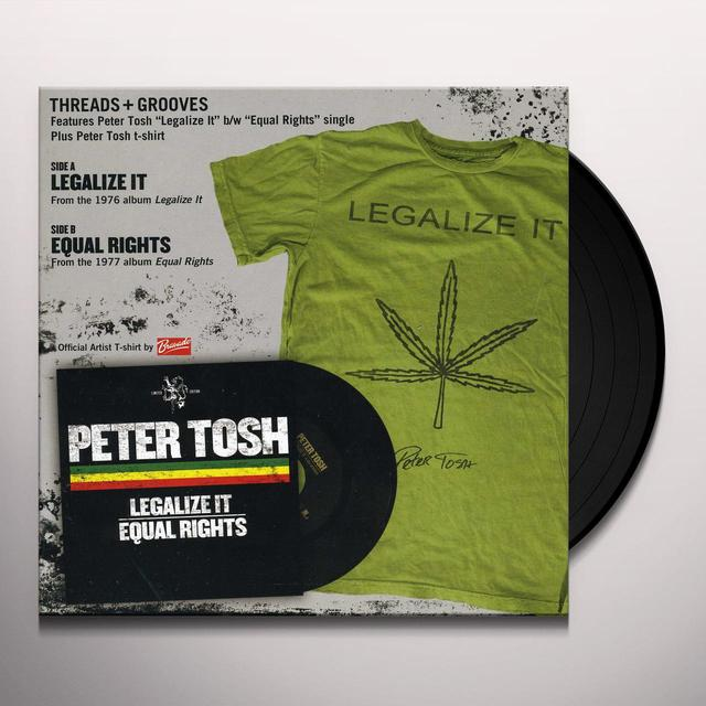 Peter Tosh LEGALIZE IT / EQUAL RIGHTS (LG) (WTSH) Vinyl Record - Collector's Edition
