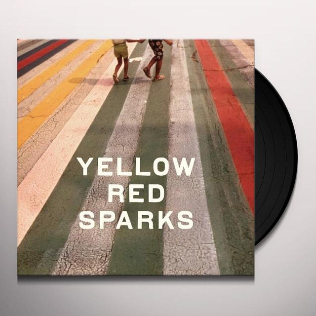 YELLOW RED SPARKS Vinyl Record