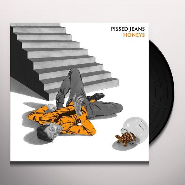 Pissed Jeans HONEYS Vinyl Record - Digital Download Included