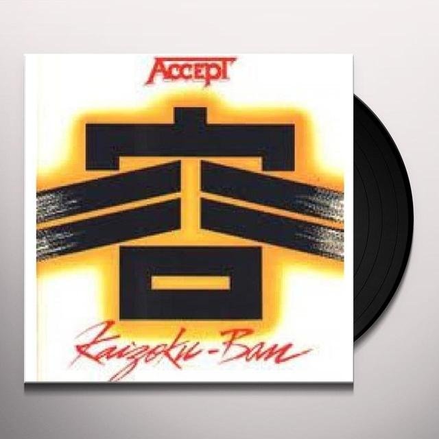 Accept KAIZOKU BAN (LIVE IN JAPAN) Vinyl Record