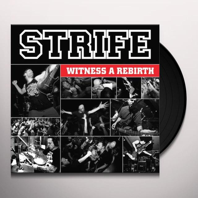 Strife WITNESS A REBIRTH Vinyl Record