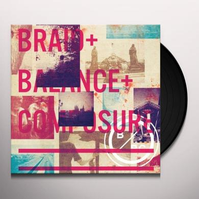 Balance & Composure / Braid SPLIT Vinyl Record