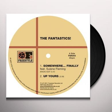 The Fantastics SOMEWHERE FINALLY Vinyl Record