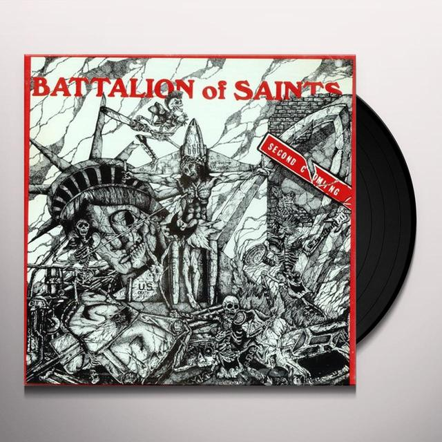 Battalion Of Saints SECOND COMING/LIVE AT CBGB'S 1984 Vinyl Record