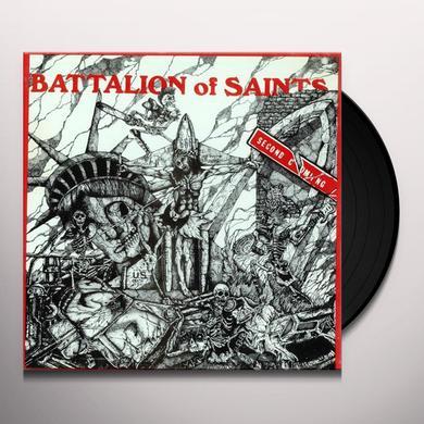 Battalion Of Saints SECOND COMING/LIVE AT CBGB'S 1984 Vinyl Record