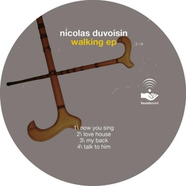 Nicolas Duvoisin WALKING (EP) Vinyl Record