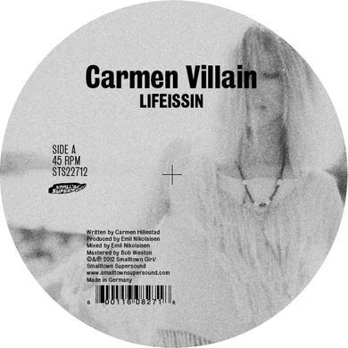 Carmen Villain LIFEISSIN Vinyl Record