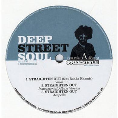 Deep Street Soul STRAIGHTEN OUT Vinyl Record