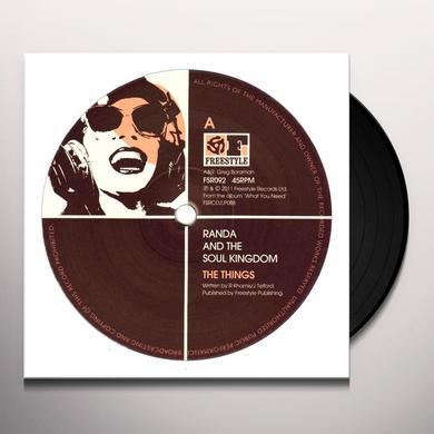Randa & The Soul Kingdom THINGS Vinyl Record