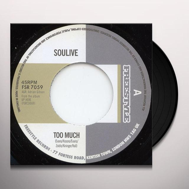 Soulive TOO MUCH Vinyl Record