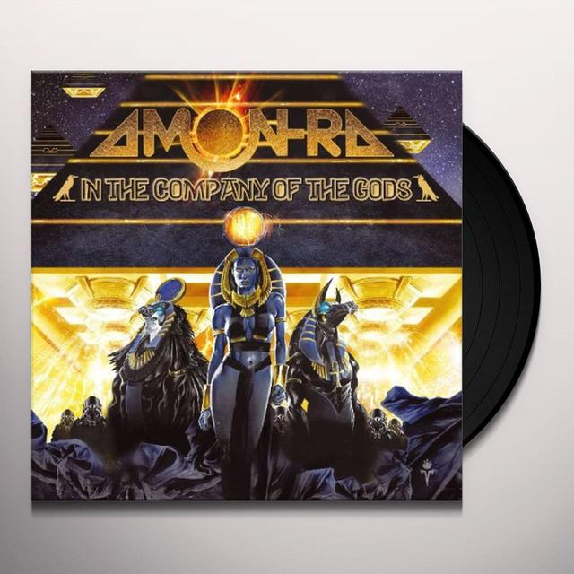 Amon Ra IN THE COMPANY OF THE GODS Vinyl Record