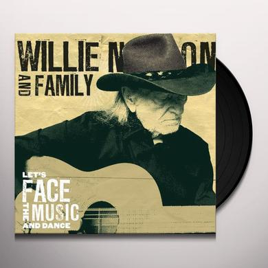 Willie Nelson LET'S FACE THE MUSIC & DANCE Vinyl Record